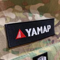YAMAP刺繍ワッペン(長方形)