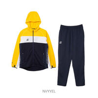 LUZ e SOMBRA STREAM LINE TRAINING JERSEY TOP BOTTOM SET【NVYYLW】