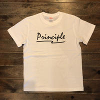 PRINCIPLE 半袖Tシャツ【ホワイト】