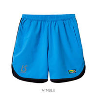 LUZ e SOMBRA STRETCH TAFTA MESH SHORT PANTS【ATMBLU】