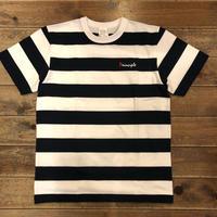 PRINCIPLE ボーダーTシャツ【WHT×NVY】
