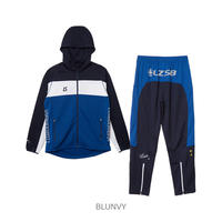 LUZ e SOMBRA STREAM LINE TRAINING JERSEY TOP BOTTOM SET【BLUNVY】