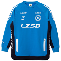 LUZ e SOMBRA P100 STRETCH SWEAT HALF ZIP TOP【ATMBLU】