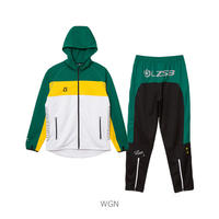 LUZ e SOMBRA STREAM LINE TRAINING JERSEY TOP BOTTOM SET【WHTGRN】