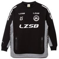 LUZ e SOMBRA P100 STRETCH SWEAT HALF ZIP TOP【BLK】