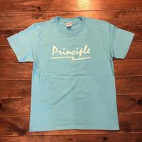 PRINCIPLE 半袖Tシャツ【アクアブルー】