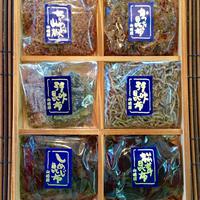 特撰 佃煮セット 京都 高瀬川 (高級木箱6種入り)お中元 お歳暮 ギフト対応