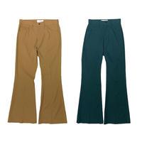 【ya-211007】center press flare pants
