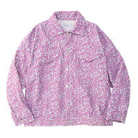 【ya-19111-2】_corduroy jacket (flower)