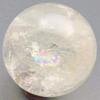天然水晶(アイリスクォーツ) 丸玉 67㎜