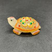 クルーマ神(インド神話に登場する亀神) ヒマラヤ水晶 99g