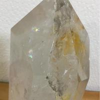 虹入りヒマラヤ水晶 4.7kg 六角柱