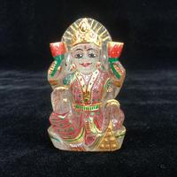 12 ラクシュミ様 ヒマラヤ水晶彩色