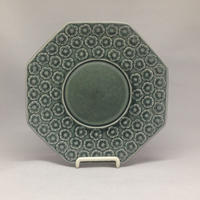 Kronjyden(クロニ―デン)/ Azur(アズール)/八角ソーサーφ14.5cm 01