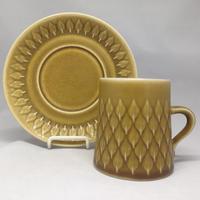 Bing&Grondahl(ビングオーグレンダール)/Relief(レリーフ)/コーヒーカップ&ソーサー 02
