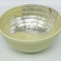 Pale yellow bowl C-69