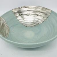 Pale blue big bowl  C-7