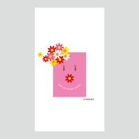 【Mother's Day】(White Ver.) スマホ用壁紙(1080×1920)