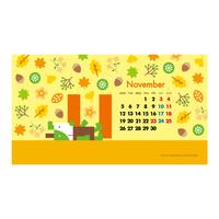 【November 2018】PC用壁紙(1920×1080)