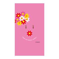 【Mother's Day】(Pink Ver.) スマホ用壁紙(1080×1920)