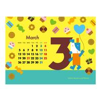 【March 2018】PC用壁紙(1024×768)