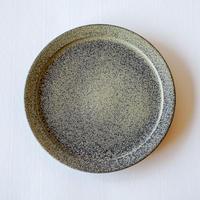rim plate L dark blue brown