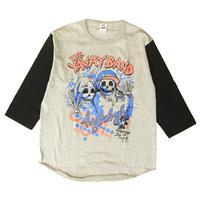 THE YAVAY BAND ベースボールTシャツ