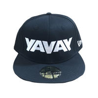 YAVAY キャップ (定番ブラック)