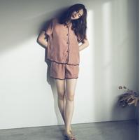 【予約商品】002107 / スカラップパジャマ【A】