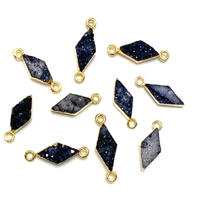 ダイヤ形ドゥルージー(小)GL ブラック