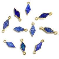 ダイヤ形ドゥルージー(小)GL ブルー