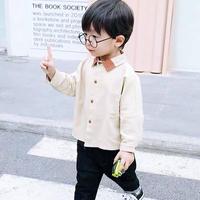 【2色展開】バイカラー襟シャツ