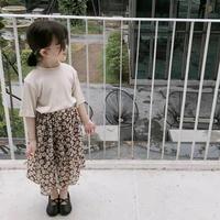 花柄シフォンスカート(kids)