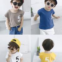 【4色展開】5 Tシャツ