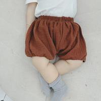 【3色展開】バルーンショートパンツ