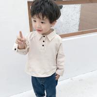 【3色展開】3つボタンナチュラルシャツ