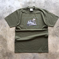 yellow's × NoMass Le S/S Tee  [Olive]