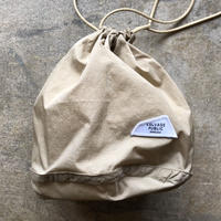 SALVAGE PUBLIC PERSONAL EFFECTS BAG  [BEIGE]