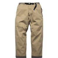 ROARK × GRAMICCI WASHED COTTON ST TRAVEL PANTS-RELAX TAPERED FIT [3 COLOURS]