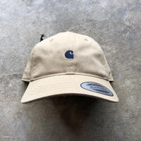 CARHARTT WIP  MADISON LOGO CAP  [LEATHER/DARK NAVY]