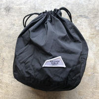 SALVAGE PUBLIC  PERSONAL EFFECTS BAG  [BLACK]