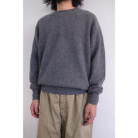 """NEW""Phlannel sol(フランネルソル)Wool Cashmere Crew Neck Knit"