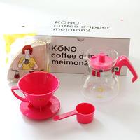KONO 名門ドリッパーセット2人用 cherry pink