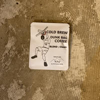 COLD BREW【水出しコーヒー】  DUNK BAG  COFFEE  : blend Classic 1p