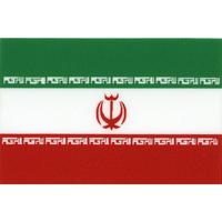 スコッチカル国旗シール イラン・イスラム共和国 Lサイズ 100mm×150mm
