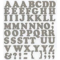 スコッチカルインレタシート 15mmセットパック 書体  クーパー 大文字 JC6BL-120 シルバーメタリック