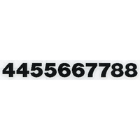 スコッチカルサインシール SC400-002 15㎜ヘルべチカ切り文字タイプ ブラック