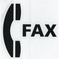 スコッチカルサインシール SC500-026 約90㎜ピクトステッカー ファックス