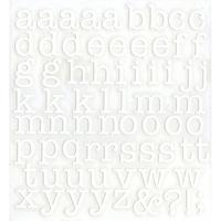 スコッチカルインレタシート 15mmセットパック 書体  アメリカンタイプライターM 小文字 A1807S-001 ホワイト(001裏グレー)