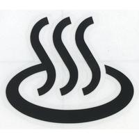 スコッチカルサインシール SC500-075 約90㎜ピクトステッカー 温泉